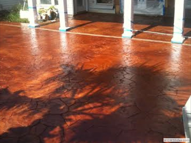 New Orleans Stamped Concrete